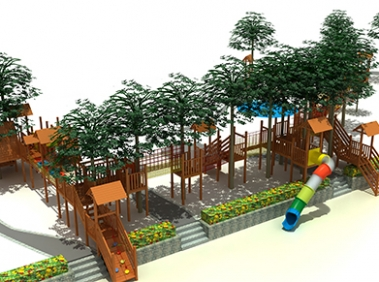 木质游乐设备制作