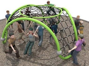 儿童攀爬网定制